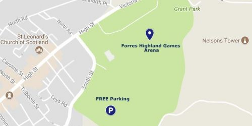 Grant Park Forres Map